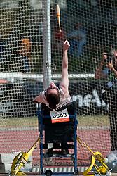 PRESCOTT Gemma, GBR, Club Throw, F31/32/51, 2013 IPC Athletics World Championships, Lyon, France