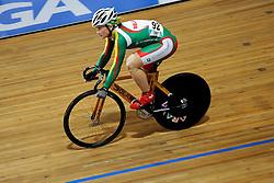 26-03-2011 WIELRENNEN: UCI TRACK CYCLING WORLD CHAMPIONSHIPS 2011: APELDOORN<br /> Olga Panarina BLR<br /> ©2011 Ronald Hoogendoorn Photography