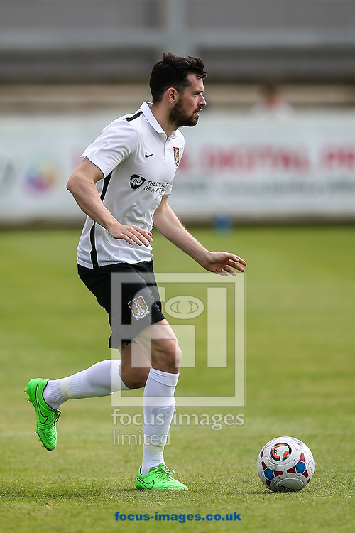 Brendan Moloney of Northampton Town during the Friendly match at St. James Park, Brackley<br /> Picture by Andy Kearns/Focus Images Ltd 0781 864 4264<br /> 16/07/2016