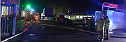 Mannheim. 09.03.17   ID 014  <br /> Rheinau. Hafen. Brand einer Lagerhalle beim Automobilzulieferer GMD Thermoplast GmbH. Feuerwehr ist im Einsatz.<br /> <br />  In den frühen Morgenstunden am 09.03.2017 kam es <br /> in Mannheim-Rheinau, Edinger Riedweg zu einem Brand auf einem <br /> Firmengelände. Aus nicht bekannter Ursache gerieten zwei leere <br /> Plastikfässer und mehrere Arbeitsgeräte in Brand. Verletzt wurde <br /> niemand. Der entstandene Sachschaden kann noch nicht beziffert <br /> werden. Während der Einsatzmaßnahmen wurde der Edinger Riedweg für <br /> ca. 1,5 Stunden gesperrt. Zu größeren Verkehrsbehinderungen kam es <br /> nicht.<br /> <br /> Bild: Markus Proßwitz 09MAR17 / masterpress
