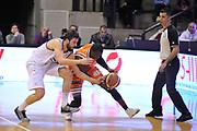 DESCRIZIONE : Treviso Lega due 2015-16  Universo Treviso De Longhi - Aurora Basket Jesi<br /> GIOCATORE : ousmane gueye<br /> CATEGORIA : Palleggio<br /> SQUADRA : Universo Treviso De Longhi - Aurora Basket Jesi<br /> EVENTO : Campionato Lega A 2015-2016 <br /> GARA : Universo Treviso De Longhi - Aurora Basket Jesi<br /> DATA : 31/10/2015<br /> SPORT : Pallacanestro <br /> AUTORE : Agenzia Ciamillo-Castoria/M.Gregolin<br /> Galleria : Lega Basket A 2015-2016  <br /> Fotonotizia :  Treviso Lega due 2015-16  Universo Treviso De Longhi - Aurora Basket Jesi