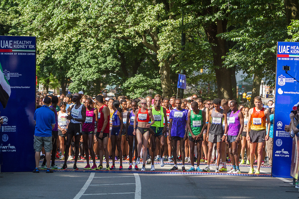 UAE Healthy Kidney 10K, start in Central Park