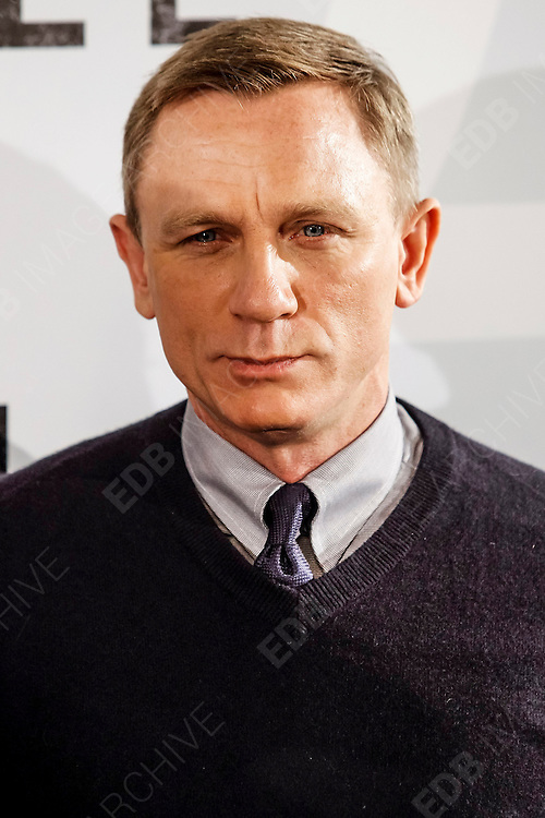 29.OCTOBER.2012. MADRID<br /> <br /> PHOTOCALL IN MADRID FOR SKYFALL AT THE VILLAMAGNA HOTEL, MADRID, SPAIN<br /> <br /> BYLINE: EDBIMAGEARCHIVE.CO.UK<br /> <br /> *THIS IMAGE IS STRICTLY FOR UK NEWSPAPERS AND MAGAZINES ONLY*<br /> *FOR WORLD WIDE SALES AND WEB USE PLEASE CONTACT EDBIMAGEARCHIVE - 0208 954 5968*
