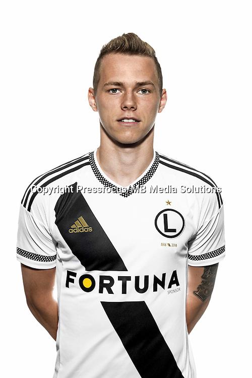 Legia Warszawa<br /> sesja zdjeciowa<br /> n/z ONDREJ DUDA<br /> No outside sales!