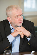 Jeremy Corbyn photographed on February 23rd 2017 at Portcullis house, London.