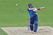 Sam Northeast (Surrey) batting during the Royal London 1 Day Cup match between Surrey County Cricket Club and Kent County Cricket Club at the Kia Oval, Kennington, United Kingdom on 12 May 2017. Photo by Jon Bromley.