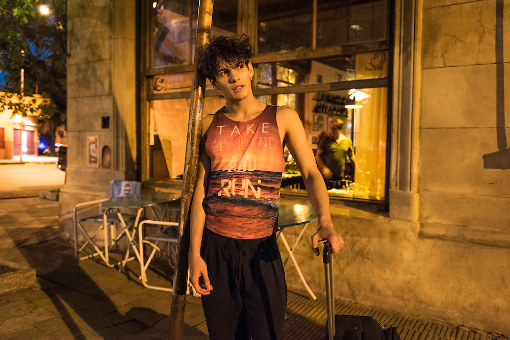 Daniel Alejandro Arroyo Miranda, 20 years old born in Venzuella, lives since two years in the attic of the bar, Milonga Los Laureles in Buenos Aires. He's dream is to go dance in Paris.