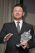 James Grady received the Modern Moment award at DundeeFC Hall of Fame at the Apex Hotel<br /> <br />  - &copy; David Young - www.davidyoungphoto.co.uk - email: davidyoungphoto@gmail.com