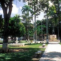 Plaza Bolivar, San Carlos, Estado Cojedes, Venezuela.