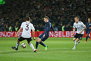 Jamie Vardy of England attacks during the International Friendly match between Germany and England at Signal Iduna Park, Dortmund, Germany on 22 March 2017. Photo by Phil Duncan.