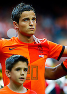 NETHERLANDS, Amsterdam Ibrahim Afellay before the gameThe Netherlands versus Northern Irland during friendly soccer match between Netherlands vs Northern Irland in Rotterdam on June 2, 2012. AFP PHOTO/ ROBIN UTRECHT