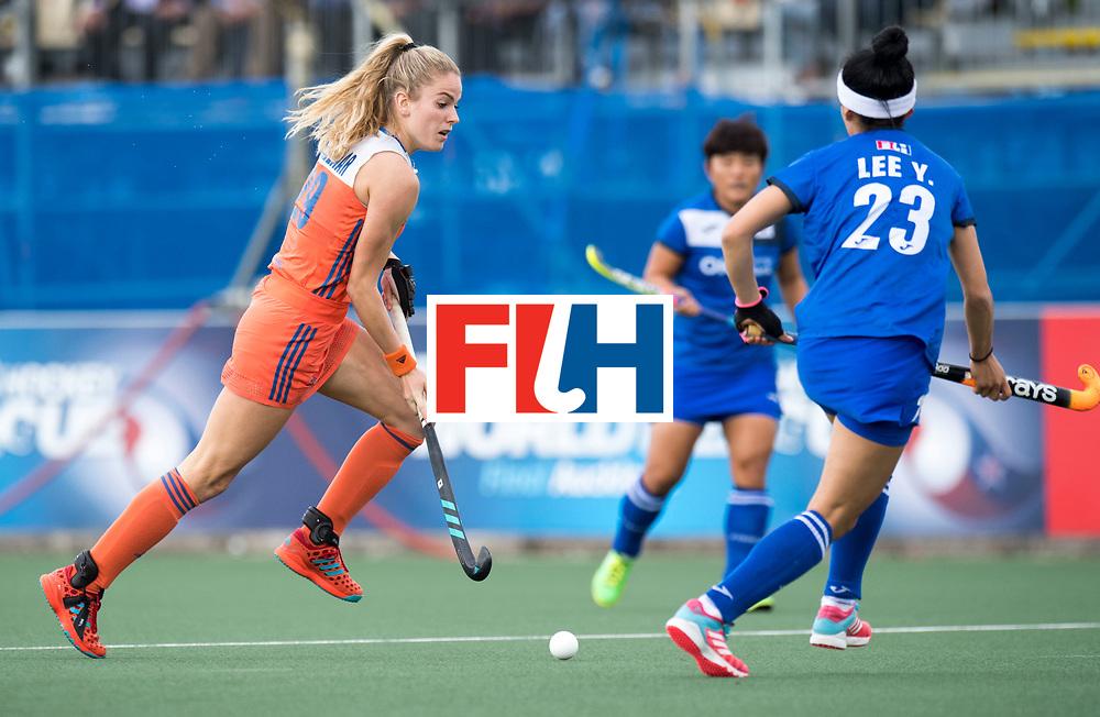AUCKLAND - Sentinel Hockey World League final women<br /> Match id: 10299<br /> 09 NED v KOR (Pool A)<br /> Foto:  Maartje Krekelaar .<br /> WORLDSPORTPICS COPYRIGHT FRANK UIJLENBROEK