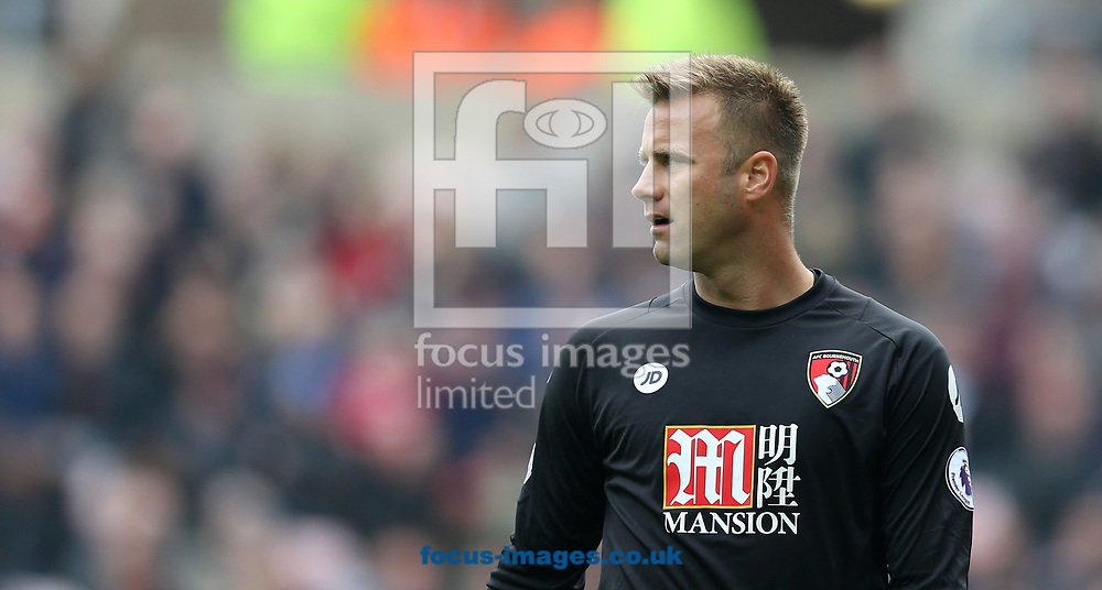 Artur Boruc of Bournemouth during the Premier League match at the Stadium Of Light, Sunderland<br /> Picture by Simon Moore/Focus Images Ltd 07807 671782<br /> 29/04/2017