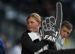 A Derby County fan - Mandatory by-line: Jack Phillips/JMP - 09/08/2016 - FOOTBALL - iPro Stadium - Derby, England - Derby County v Grimsby Town - EFL Cup First Round