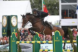 El Zoghby Karim, (EGY), Amelia<br /> Grand Prix Rolex<br /> Brussel Stephex Masters 2015<br /> © Hippo Foto - Counet Julien<br /> 6-09-2015