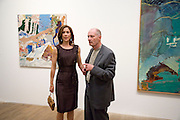 Crown Princess Mary of Denmark; Per Kirkeby. Per Kirkeby Opening Reception and Dinner. Tate Modern. 16 June 2009.