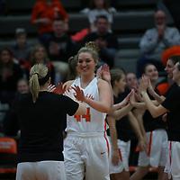 Women's Basketball: Wartburg College Knights vs. Nebraska Wesleyan University Prairie Wolves