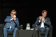 21st International AIDS Conference (AIDS 2016), Durban, South Africa. Photo shows: Ending AIDS with the Voices of Youth. Elton John, HRH Prince Harry.