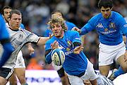 © Filippo Alfero / LaPresse<br /> Edimburgo, Gran Bretagna, 28/02/2009<br /> sport , rugby<br /> Rugby 6 Nazioni 2009 - Scozia vs Italia<br /> Nella foto: Mirco Bergamasco<br /> <br /> © Filippo Alfero / LaPresse<br /> Edinburgh, Great Britain, 28/02/2009<br /> sport , rugby<br /> RBS 6 Nations 2009 - Scotland vs Italy<br /> In the photo: Mirco Bergamasco