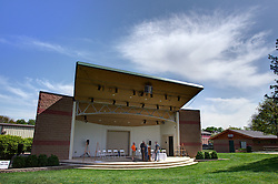 10 May 2014:   25th anniversary celebration of the Constitution Trail ceremony at Connie Link Amphitheater in Normal Illinois<br />