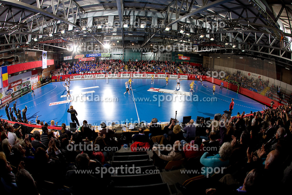 Arena Kodeljevo at handball match of Round 5 of Champions League between RK Krim Mercator and Metz Handball, France, on January 9, 2010 in Kodeljevo, Ljubljana, Slovenia. (Photo by Vid Ponikvar / Sportida)