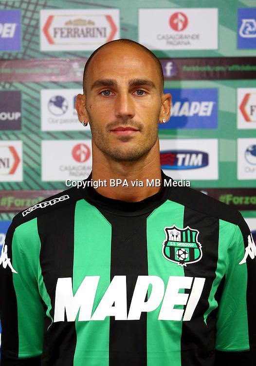 Italian League Serie A -2015-2016 / <br /> ( US Sassuolo Calcio ) - <br /> Paolo Cannavaro