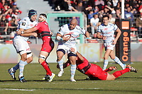 Luc DUCALCON - 10.01.2015 - Toulon / Racing Metro - 16e journee Top 14<br />