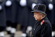 Royals Attend  Remembrance Service At Cenotaph, London