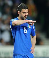 Fussball International, Nationalmannschaft   EURO 2012 Qualifikation, Slowenien - Italien          25.03.2011 Thiago Motta (Italien)