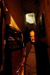 Barcelona,Spain<br /> Jose Marti Gomez, writer and journalist.<br /> &copy;Carmen Secanella.