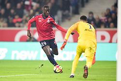 March 15, 2019 - Lille, France, FRANCE - Nicolas Pepe (Losc) vs SUBASIC Danijel  (Credit Image: © Panoramic via ZUMA Press)