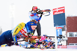 March 9, 2019 - –Stersund, Sweden - 190309 Emma Nilsson of Sweden at the women's training session during the IBU World Championships Biathlon on March 9, 2019 in Östersund..Photo: Petter Arvidson / BILDBYRÃ…N / kod PA / 92250 (Credit Image: © Petter Arvidson/Bildbyran via ZUMA Press)