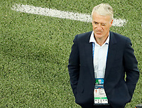 SAINT PETERSBURG, RUSSIA - JULY 10: France national team head coach Didier Deschamps during the 2018 FIFA World Cup Russia Semi Final match between France and Belgium at Saint Petersburg Stadium on July 10, 2018 in Saint Petersburg, Russia. MB Media