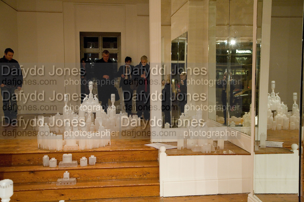 Private view: Atlantis by Gayle Chong Kwan, Hosted by Pia Getty, Isabella Macpherson & Sigrid Wilkinson . 29 Thurloe Place, SW7. London. 11 Nov emebr 2008<br /> *** Local Caption *** -DO NOT ARCHIVE-© Copyright Photograph by Dafydd Jones. 248 Clapham Rd. London SW9 0PZ. Tel 0207 820 0771. www.dafjones.com.