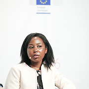 20160615 - Brussels , Belgium - 2016 June 15th - European Development Days - Harnessing the potential of migration and forced displacement for development - Faith Tendai Munyati , Young Leader - Migration and Refugees , South Africa © European Union