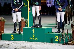 Podest<br /> Genf - CHI Rolex Grand Slam 2017<br /> Rolex Finale Top 10<br /> © www.sportfotos-lafrentz.de