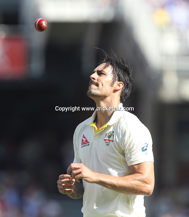 Mitchell Johnson of Australia. England v Australia, 5th and final Ashes Test, Day 2, Oval, London. 21/08/2015 © Matthew Impey/www.cricketpix.com