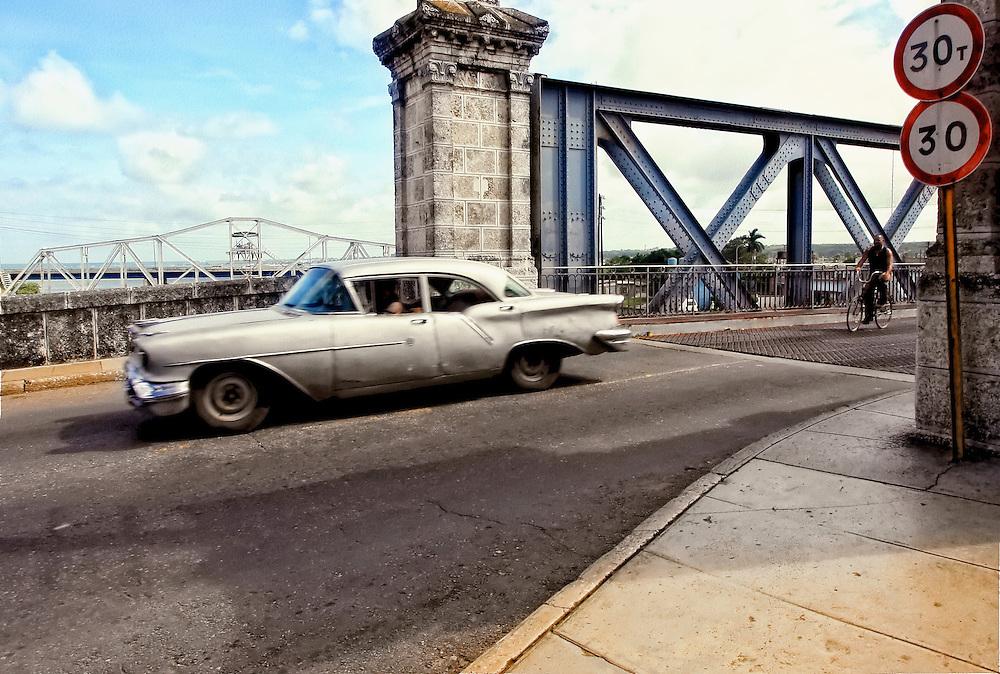 Car in Matanzas, Cuba.