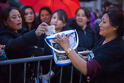 @Licensed to London News Pictures 04/05/2015. Maidstone, Kent. Tonight The Maidstone Nepalese Community hold a candlelight vigil in support of the Nepal Earthquake Disaster Fund where over 9,000 people perished on the 25th April 2015. Photo credit: Manu Palomeque/LNP