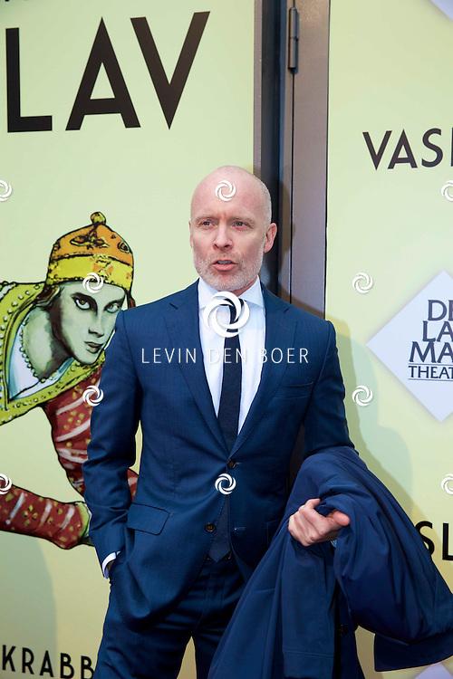 AMSTERDAM - Het toneelstuk Vaslav is in premiere gegaan in theater DeLaMar.  Mart Visser op de rode loper. FOTO LEVIN DEN BOER - PERSFOTO.NU
