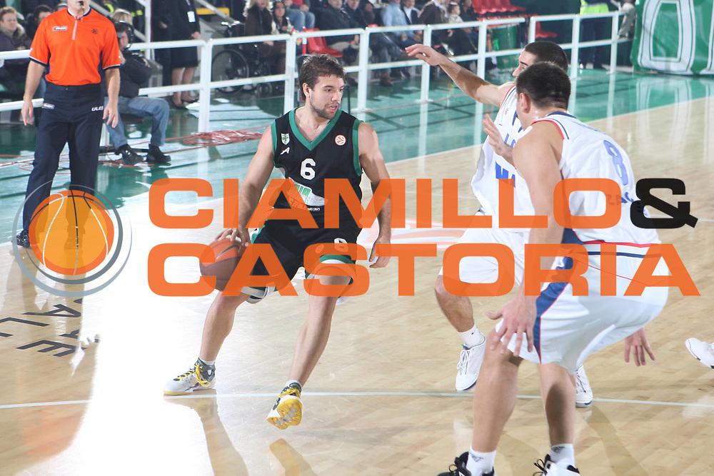 DESCRIZIONE : Avellino Eurolega 2008-09 Air Avellino Cibona Zagabria <br /> GIOCATORE : Antonio Porta <br /> SQUADRA : Air Avellino Cibona Zagabria<br /> EVENTO : Eurolega 2008-2009<br /> GARA : Air Avellino Cibona Zagabria<br /> DATA : 15/01/2009 <br /> CATEGORIA : Palleggio<br /> SPORT : Pallacanestro <br /> AUTORE : Agenzia Ciamillo-Castoria/G.Ciamillo