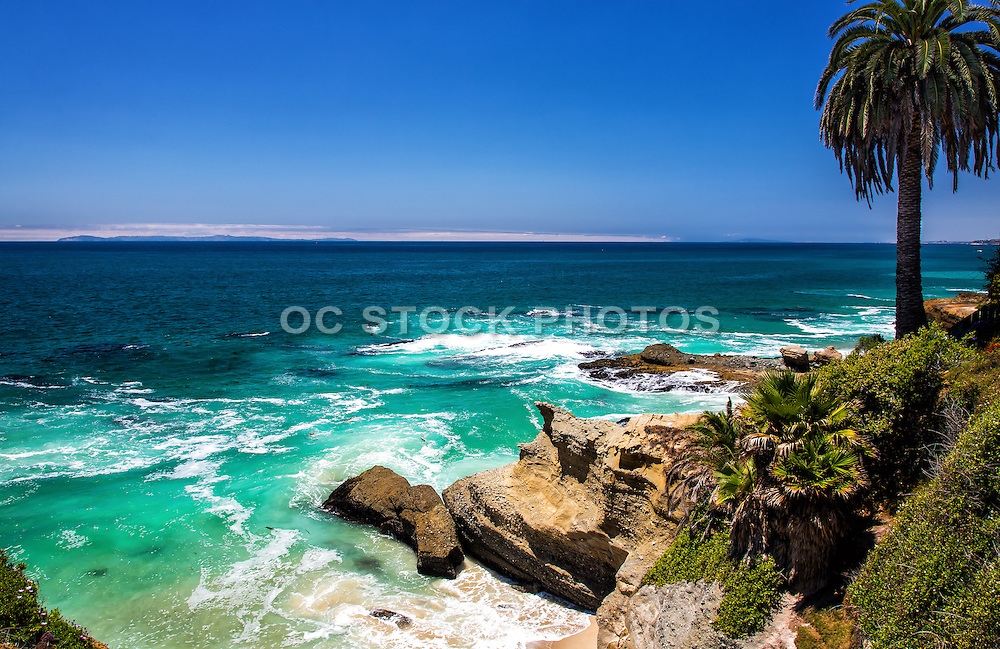 Scenic Photo Of Laguna Beach Coast