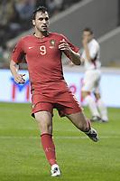 World Cup 2010 Preview - Portugal Team. In picture: Hugo Almeida . **File Photo** 20081015. PHOTO: Hugo Delgado/CITYFILES