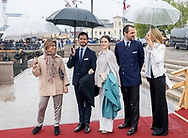 Oslo, 10-05-2017 <br /> <br /> King Harald and Queen Sonja  celebrate their 80th birthday with their family and with Royal guests at KingshipThe Norge.<br /> <br /> <br /> PUBLICATION IN FRANCE ONLY<br /> <br /> COPYRIGHT: ROYALPORTRAITS EUROPE/ BERNARD RUEBSAMEN