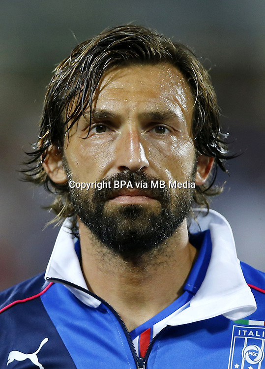 Uefa Euro FRANCE 2016 - <br /> Italy National Team - <br /> Andrea Pirlo