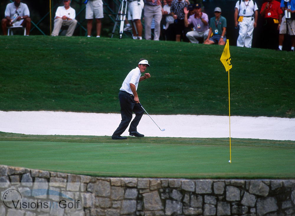 Phil Mickelson<br />USPGA Atlanta Athletic Club USA THE US PGA CHAMPIONSHIP 2001  <br />Photo: Michael C. Cohen