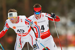 25.02.2015, Lugnet Ski Stadium, Falun, SWE, FIS Weltmeisterschaften Ski Nordisch, Falun 2015, Langlauf, Herren, 15km, im Bild MACIEJ STAREGA<br /> FOTO RADOSLAW JOZWIAK / CYFRASPORT // during the Mens 15km Cross Country Race of the FIS Nordic Ski World Championships 2015 at the Lugnet Ski Stadium in Falun, Sweden on 2015/02/25. EXPA Pictures © 2015, PhotoCredit: EXPA/ Newspix/ Radoslaw Jozwiak<br /> <br /> *****ATTENTION - for AUT, SLO, CRO, SRB, BIH, MAZ, TUR, SUI, SWE only*****