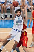DESCRIZIONE : Skopje Nazionale Italia Uomini Torneo Internazionale di Skopje Italia Montenegro Italy Montenegro<br /> GIOCATORE : Alessandro Gentile<br /> CATEGORIA : Penetrazione Passaggio<br /> SQUADRA : Italia Italy<br /> EVENTO : Trofeo Internazionale di Skopje<br /> GARA : Italia Montenegro Italy Montenegro<br /> DATA : 25/07/2014<br /> SPORT : Pallacanestro<br /> AUTORE : Agenzia Ciamillo-Castoria/Max.Ceretti<br /> Galleria : FIP Nazionali 2014<br /> Fotonotizia : Skopje Nazionale Italia Uomini Torneo Internazionale di Skopje Italia Montenegro Italy Montenegro
