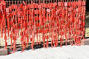 China, Beijing, Yonghegong Lama temple good luck charms