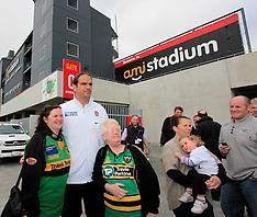 Christchurch-Rugby,RWC, England team visit